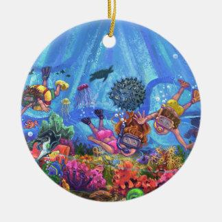 Unter dem Meer Keramik Ornament