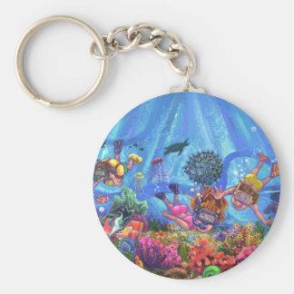 Unter dem Meer Schlüsselanhänger