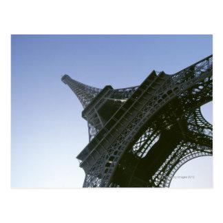 Unter Eiffelturm Postkarte