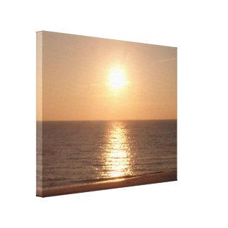 Untergehende Sonne Leinwanddruck