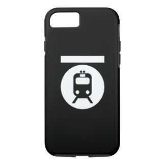 Untergrundbahn-Piktogramm iPhone 6 Fall iPhone 8/7 Hülle