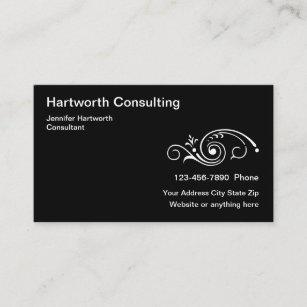 Unternehmensberater Visitenkarten Zazzle At