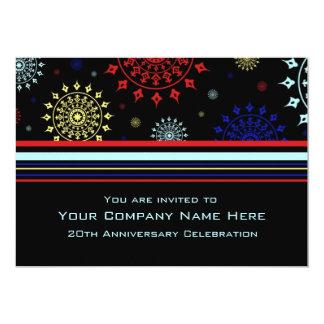 Unternehmensjahrestags-Party Einladungen