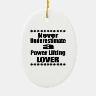 Unterschätzen Sie nie Power-anhebenden Liebhaber Ovales Keramik Ornament