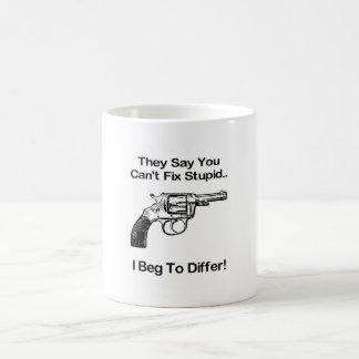 Unterschiedlich Tasse
