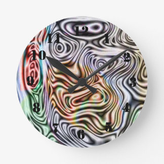 Unterschiedliches abstraktes Muster Uhren