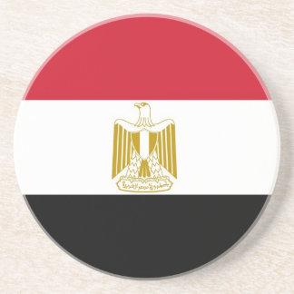Untersetzer mit Flagge des Ägyptens