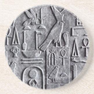 UntersetzerVintager Egyptology ägyptisches ankh Getränkeuntersetzer