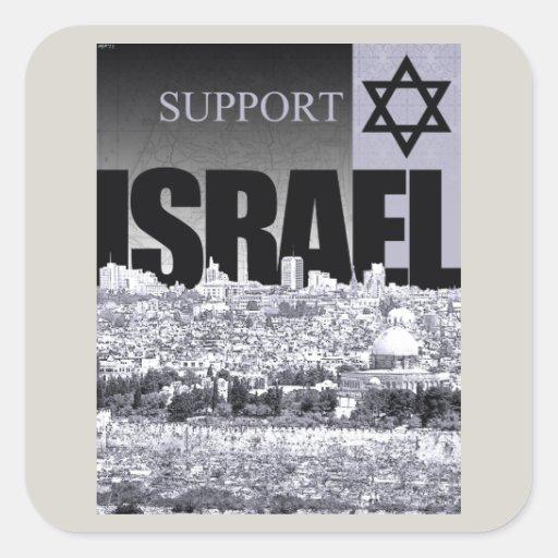Unterstützung Israel Stickers