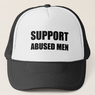 Unterstützung missbrauchte Männer Truckerkappe
