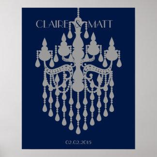 Unterzeichnendes Gastbuch der großen Gatsby Poster