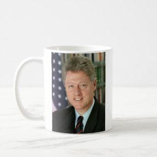 Unterzeichnungs-Tasse Präsidenten-Bill Clinton Tasse