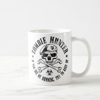 untote lebende Tote des Zombiejägers Tasse