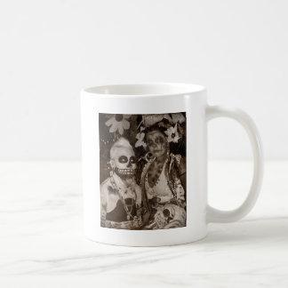 Untotes Porträt Kaffeetasse