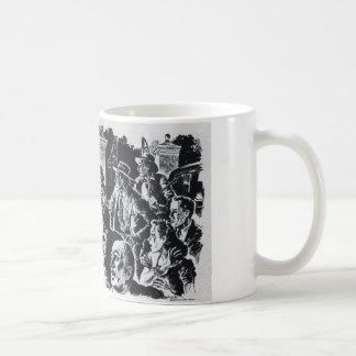 Untotes Steigen Kaffeetasse