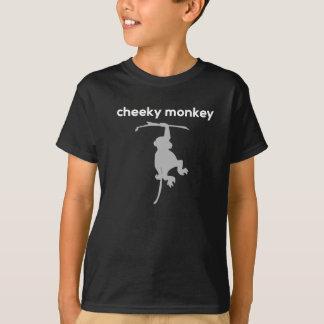 Unverschämter Affe scherzt T - Shirt