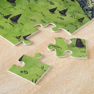 Unwirkliches Anwesen-Puzzle Puzzle