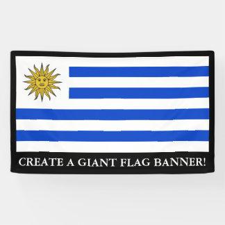 Uraguay Flagge Banner