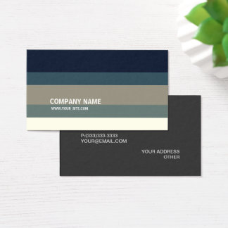 Urban Gradient Modern Elegant Company Visitenkarte
