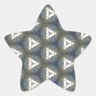 Ursprung von Gedanken 2 Stern-Aufkleber