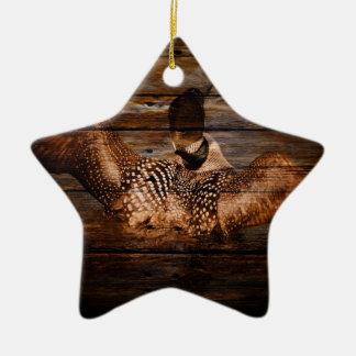 Ursprüngliche Scheunen-hölzerner Keramik Ornament