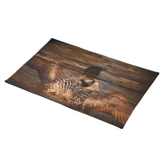 Ursprüngliche Scheunen-hölzerner Tischset