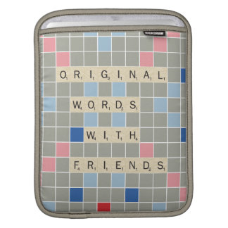 Ursprüngliche Wörter mit Freunden Sleeves Für iPads