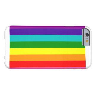 Ursprünglicher Regenbogen-Flaggen-Kasten Barely There iPhone 6 Hülle