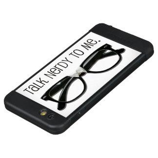 Ursprüngliches Gesprächs-Nerdy LifeProof NÜÜD iPhone 6s Plus Hülle