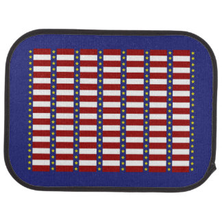 US Flagge-patriotische hintere Auto-Matten Automatte