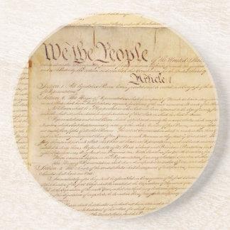 US-KONSTITUTION SANDSTEIN UNTERSETZER