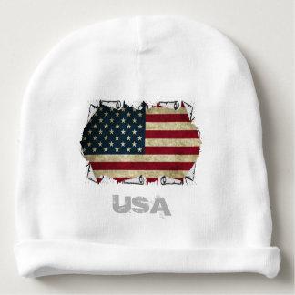 USA-amerikanische Flagge Babymütze