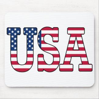USA-amerikanische Flagge Mousepad