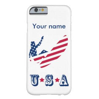 USA, die amerikanischen Surfer surfen Barely There iPhone 6 Hülle