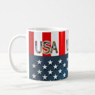 USA-Flagge Kaffeetasse
