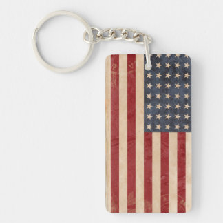 USA-Flagge Keychain Andenken Schlüsselanhänger