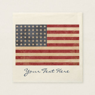 USA-Flaggen-Party-Servietten Serviette