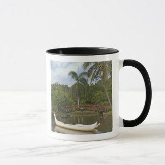 USA, Hawaii, Kauai, Smith-Familie Luau Garten Tasse