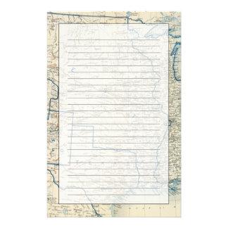 USA im Dezember 1860 Briefpapier