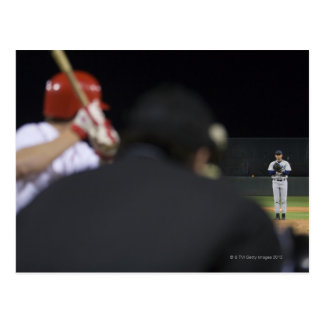 USA, Kalifornien, San Bernardino, Baseballspiel, Postkarte