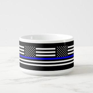 USA kennzeichnen dünnes symbolisches Denkmal Blue Schüssel