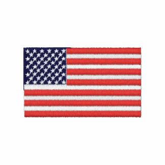 USA kennzeichnet gesticktes Shirt Polo Hemd