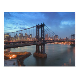 USA, New York, New York City, Manhattan: 26 Postkarte