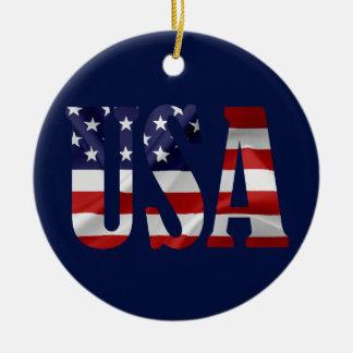 USA patriotisch Keramik Ornament