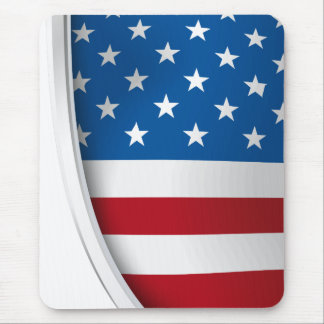 USA-Schild Mousepad