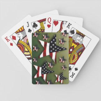USA-Sterne Spielkarten