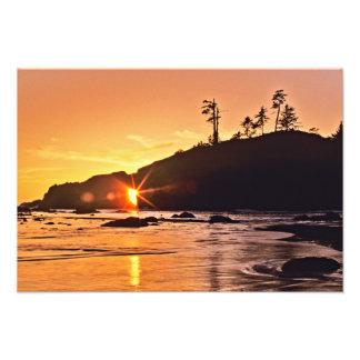 USA, Washington-Staat, olympischer Nationalpark. 3 Fotodruck