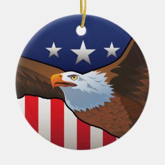 USA-Weißkopfseeadler Keramik Ornament