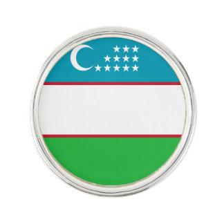 Usbekistan-Flagge Anstecknadel