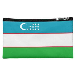 Usbekistan-Flagge Cosmetic Bag